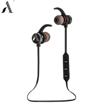 AmericaMande BT31 In Ear Wireless Bluetooth Earphones Running Sport with Mic Headsets Free Calls for iPhone Xiaomi Android