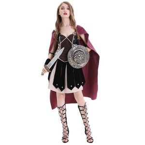 Image 4 - Volwassen Vrouwen Middeleeuwse Rome Zina Warrior Princess Kostuum Halloween Carnaval Party Cosplay Romeinse Sparta Gladiator Jurk