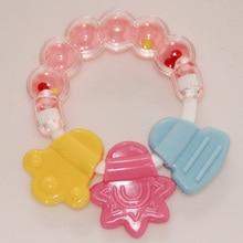 MOONBIFFY силиконовый детский прорезыватель, зубная щетка, зубная щетка для детей, обучающая зубная щетка, милый детский колокольчика, игрушки, массажер