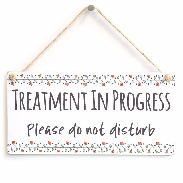 Meijiafei TREATMENT IN PROGRESS Please do not disturb - Functional Do Not Disturb Notice Door Sign  sc 1 st  AliExpress.com & Meijiafei TREATMENT IN PROGRESS Please do not disturb Functional Do ...
