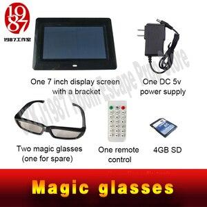 Image 4 - 新しいエスケープルーム小道具マジックメガネ魔法を見つけるメガネに見えない手がかり JXKJ1987 表示され実生活ルームエスケープ