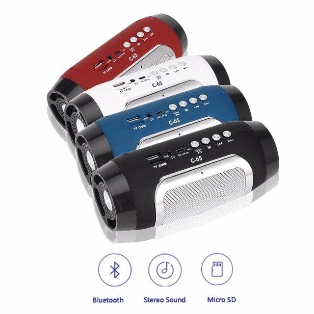 Newest Portable Bluetooth Wireless Speaker C 65 Mini Support TF ...