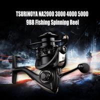 2016 TSURINOYA Fishing Reels Durable Black Fishing Reel High Quality NA2000 3000 4000 5000 9BB 5