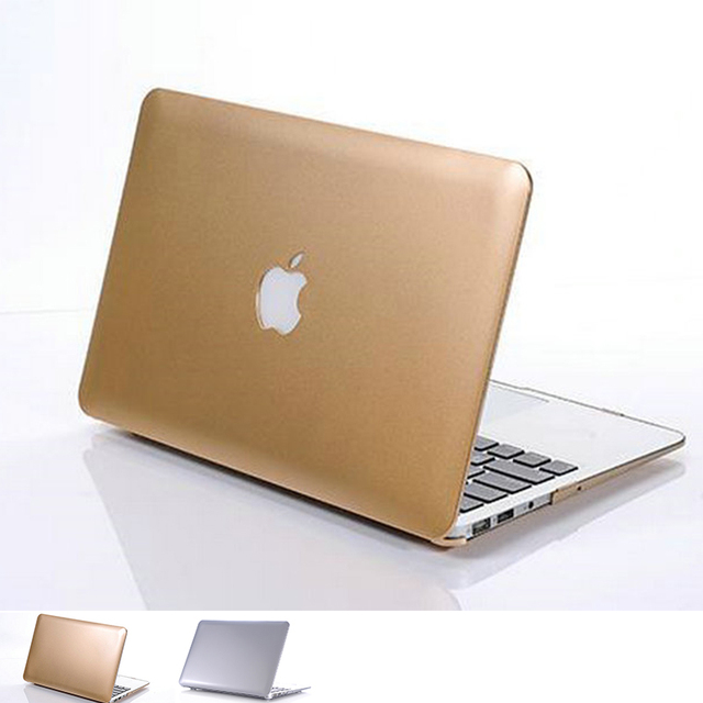 The Latest Metal no Matte Color Crystal Gold Silver Sleeves Covers Cases for Macbook air 11 12 13 pro 13 15 retina 13 15 air 12