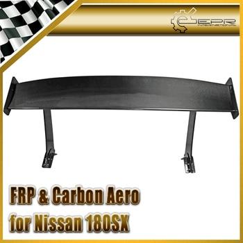 Автомобильные аксессуары углеродного волокна Тип B GT Спойлер (установка на крыло) глянцевая Fibre задний Багажник крыло комплект для Nissan 180SX