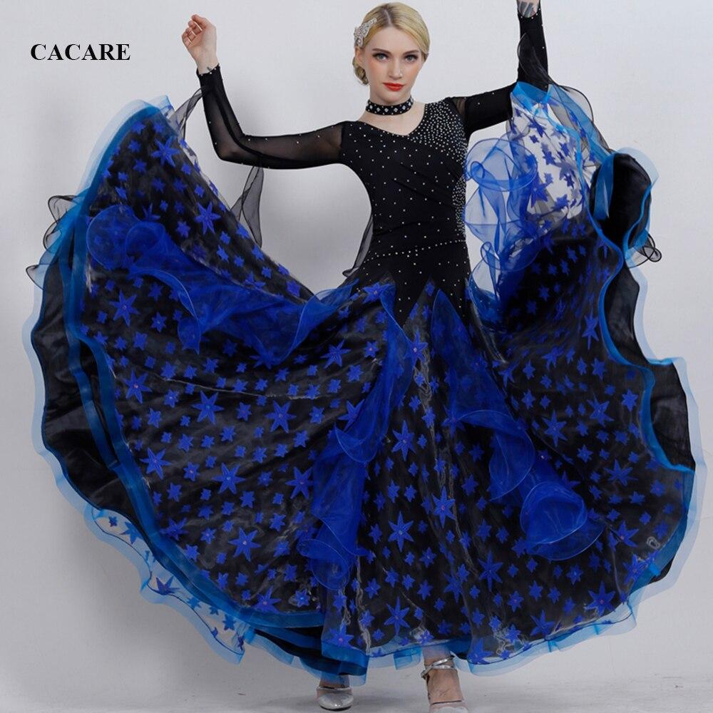 Ballroom Waltz Dresses Sale Dance Costumes Competition Dress Standard Dance Party Dresses D0354 Big Hem 5 Color