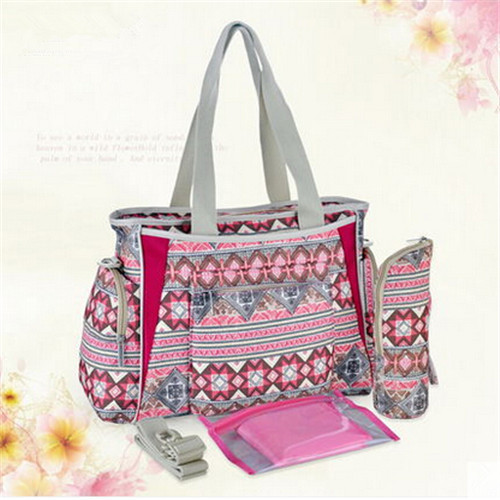 designer baby diaper bags for cheap z3l1  Hot Sale 2016 Cotton Printing Maternity Bags Multifunctional Baby Diaper  Bags Designer Nappies Mummy Bag Large