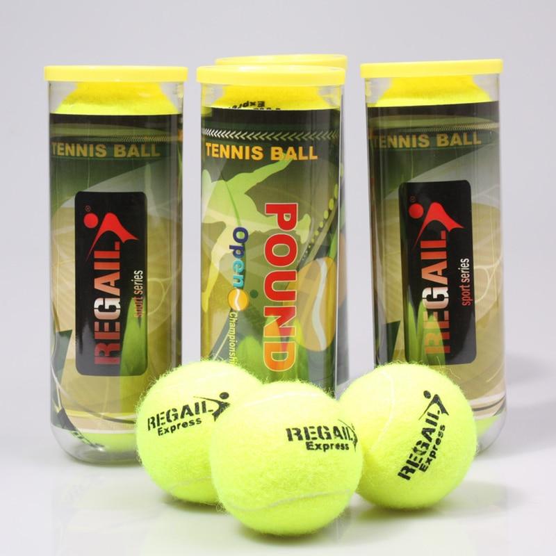 3 adet/Tüp Orijinal Tenis Topları Resmi Baş Antrenör Tenis Eğitim Topu Raquete Tenis Topları Tenis Eğitmeni Pelotas Tenis