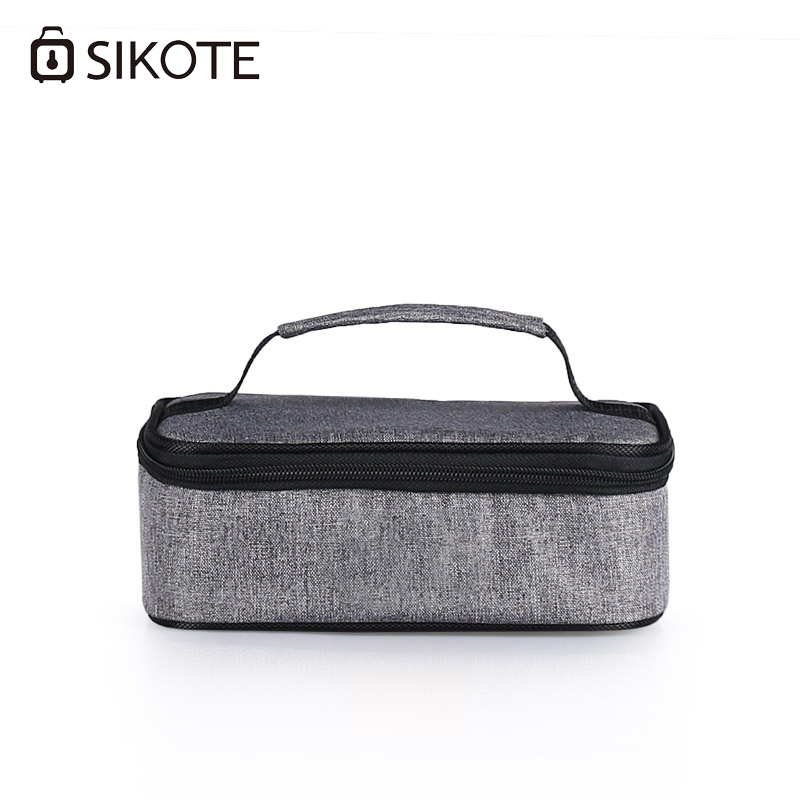 SIKOTE Lunch Bag For Women Kids Men Food Fruit Polyester Waterproof Picnic Travel Storage Thermal Insulated Fashion Lunch Bags