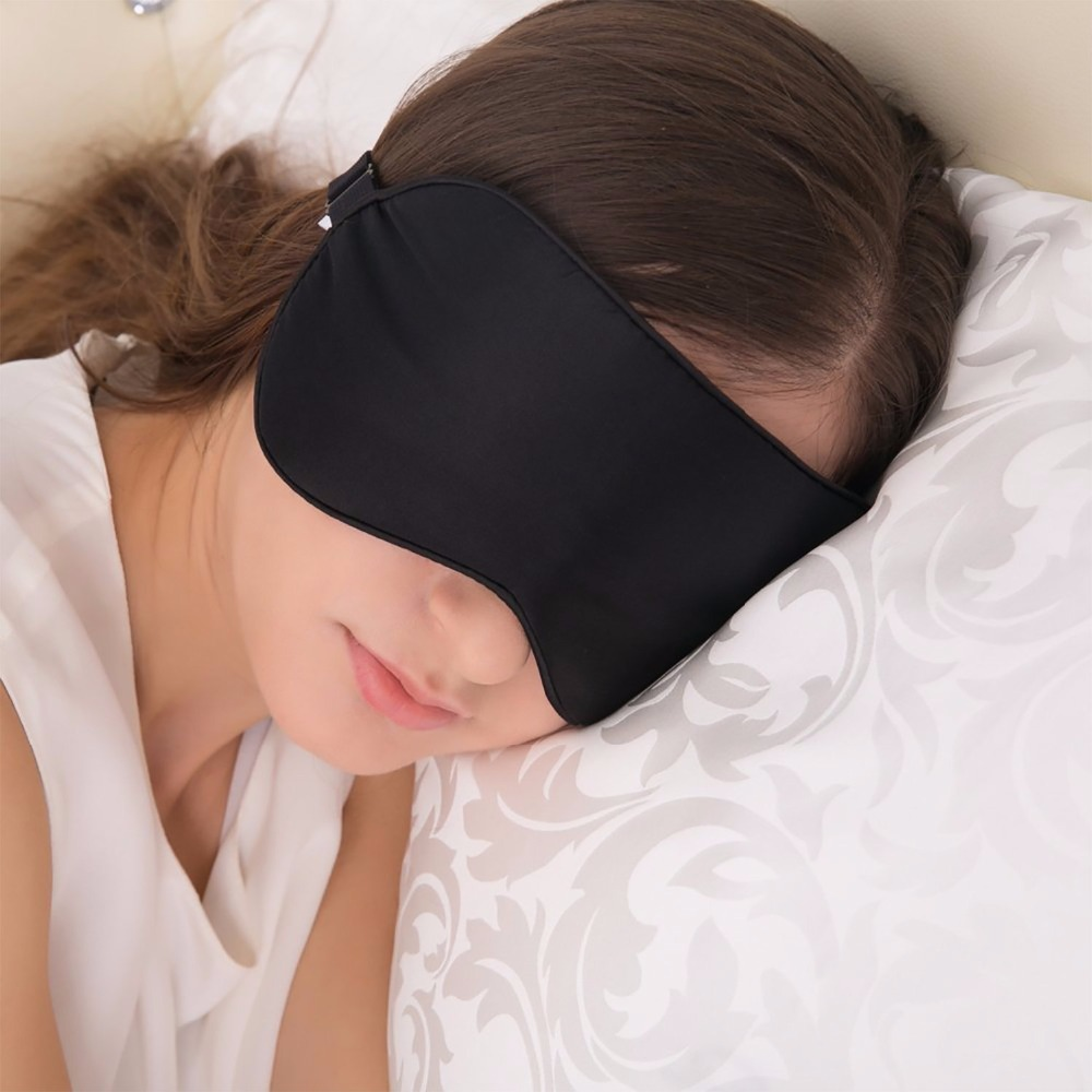 Mulberry Silk Mask Sleep EyeShade Eye Mask Blindfold Shield Cover Travel Sleep Rest Aid Eye Care Tool Business Trip Relax Gadget 3