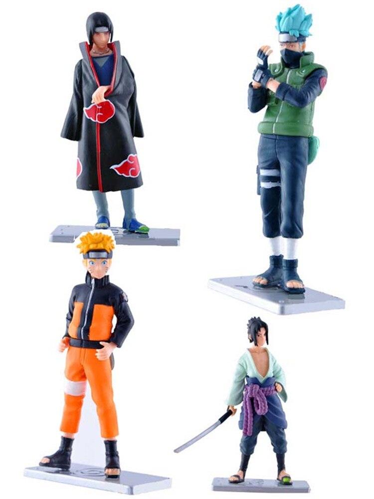 Naruto 4 Naruto 17 generation Kakashi Uchiha hand animation model anime figure action toy figures lps toys 11cm PVC chiaro паула 4 411011605