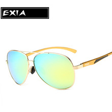 Flash  Coated Anti-Glare Men's Fashion Sunglasses with Polarization UV400 Lenses EXIA OPTICAL KD-8088 Series