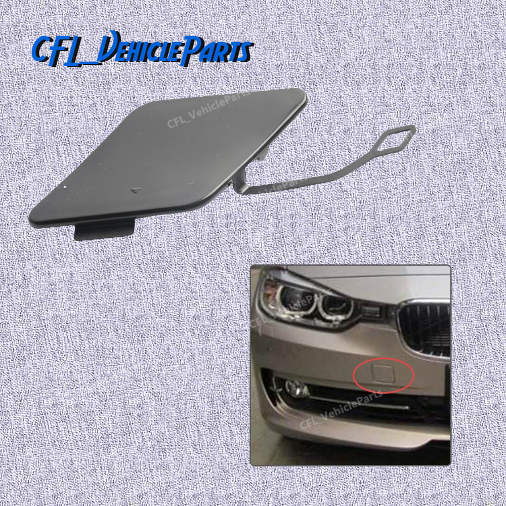 NEW For BMW F30 3-SERIES REAR BUMPER TOWING EYE COVER CAP 51127312748 2012-2015