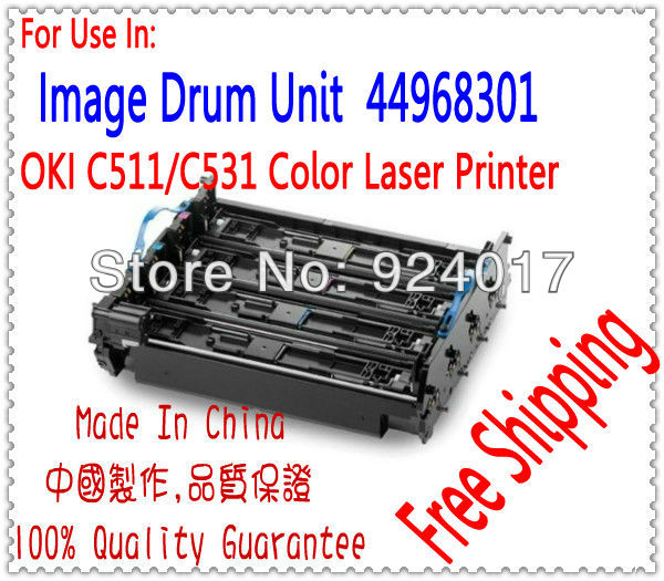 Drum Unit For Oki C310DN C330DN C331DN C510DN C511DN C530 DN C531DN Printer,For Okidata C310 C330 C331 C510 C511 C530 C531 Drum powder for oki data 700 for okidata b 730 dn for oki b 720 dn for oki data 710 compatible transfer belt powder free shipping
