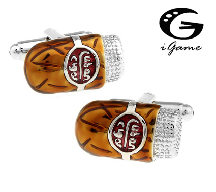 iGame Cuban Cigar Cuff Links Unique Design Quality Brass Material Free Shipping