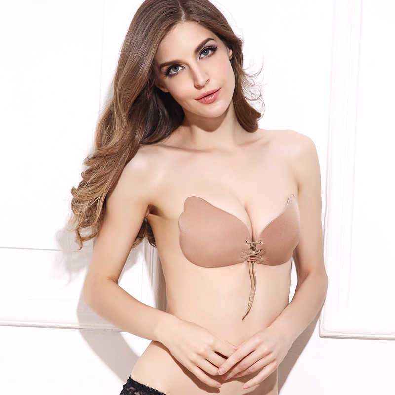 e4ecf6e195 ... BEFORW Women Seamless LB Bra Strapless Self-Adhesive Sticky Invisible Bra  String Wedding Underwear Women. RELATED PRODUCTS. BEFORW Sexy Silicone ...