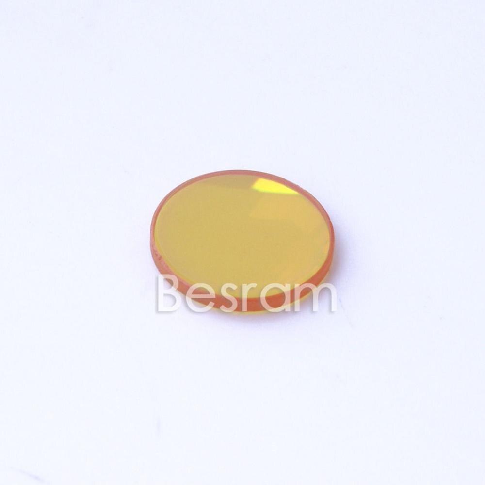 Lente Focal CVD ZnSe de 18mm 10600nm 10.6um CO2 enfoque láser 63,5mm 2,5