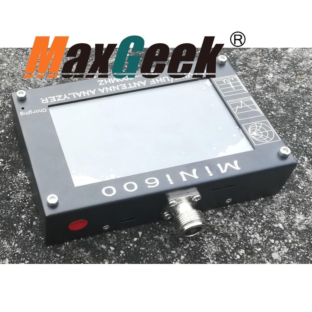 MINI600 HF/VHF/UHF Analizzatore di Antenna 0.1-600 MHZ con 4.3