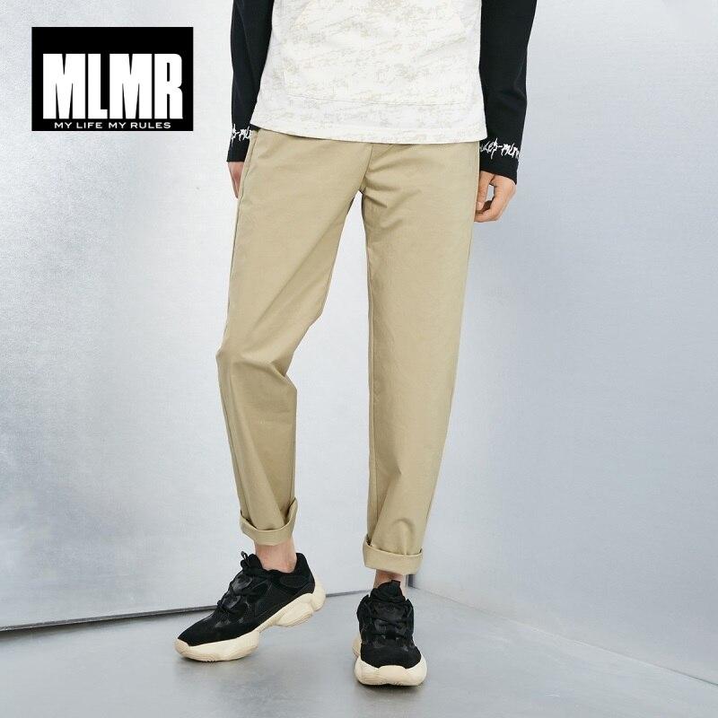 MLMR Men's Stretch Straight Fit Casual Pants JackJones Brand Basic Menswear 219114552