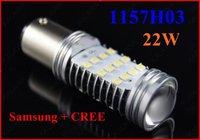 1 Pair Foglamp 22W 1156 1157 T20S T20D 3156 3157 H4 H7 H8 H10 H11 9005
