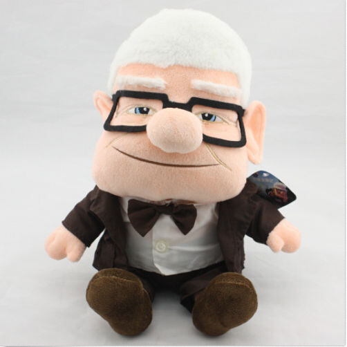 carl movie 11 up plush doll figure stuffed toy fredricksen russell