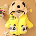 Boys and Girls Outerwear children's clothing  fashion cartoon winter coat Baby girl and boy warm jacket Kids clothes for 1-4 Y