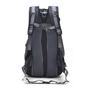 Image 4 - 무료 나이트 50L 야외 하이킹 배낭, 방수 여행 산 배낭, 트레킹 캠핑 등산 가방, 스포츠 하이킹 가방