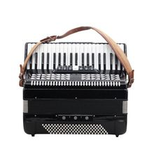 1 пара Регулируемый синтетический кожаный аккордеон Наплечные ремни ремень для 16/60/96/120 бас аккордеона высокого качества ремень для аккордеона