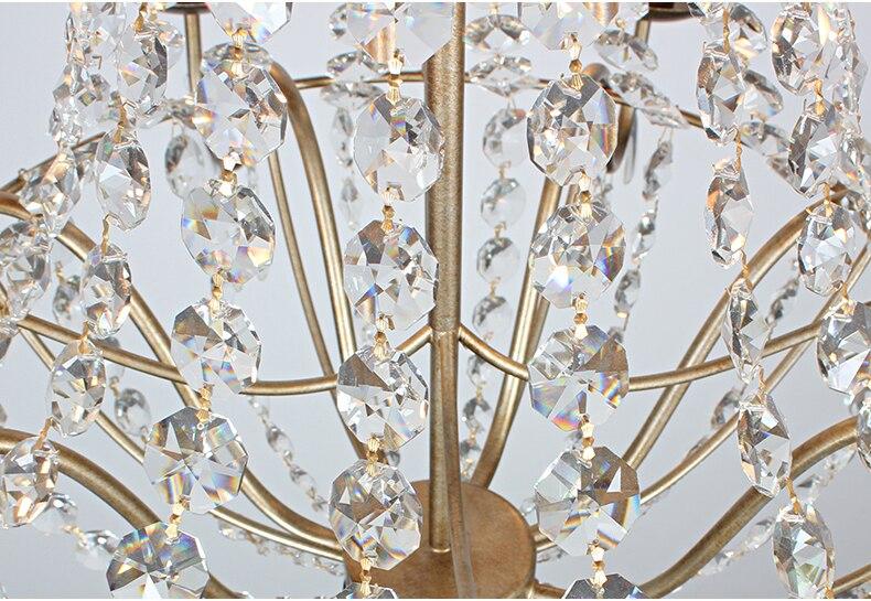 Kristal Çilçıraq Müasir Vintage Kristal Çilçıraqlar İşıq - Daxili işıqlandırma - Fotoqrafiya 4