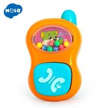 HOLA 939-7 Baby Rattle  Toys Mobile Infancia Brinquedo para Bebe Chocalho