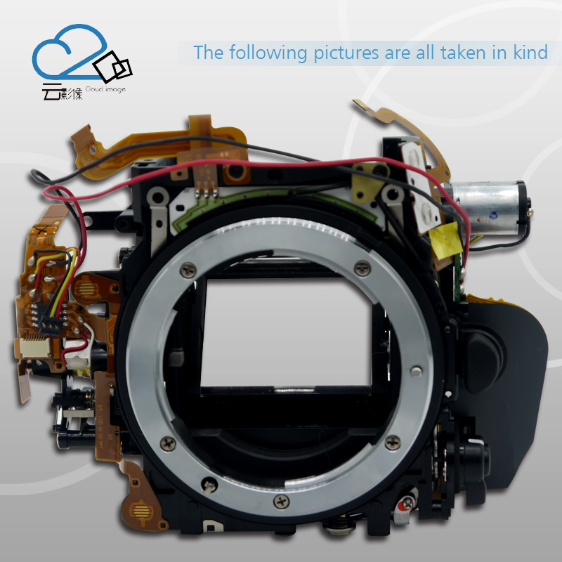 D600 D610 small main body,Mirror Box With Aperture Control Unit replacement Part for Nikon