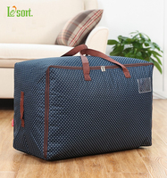 Thickening Oxford Fabric Quilt Storage Bag Large Quilt Bags Clothing Sorting Bags Soft Storage Box