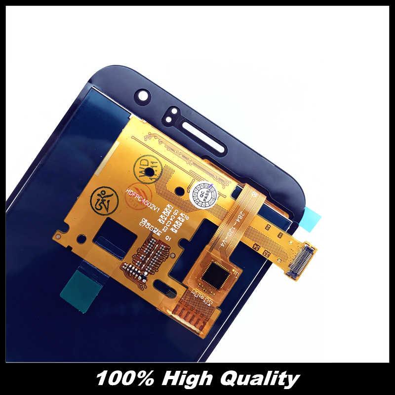 Высококачественный ЖК-дисплей s для samsung Galaxy J120 2016 J120F J120H J120M lcd сенсорная установка преобразователя экрана Замена наклейки