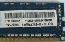 00D4955 for 4GB DDR3 1600MHz X3100M4 3250M4 Memory new condition with one year warranty