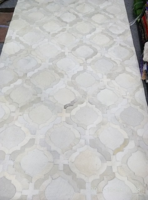 Neueste Top Qualitat Kuhfelle Naturliche Moderner Fell Teppich Weiss