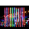 20 unids/lote 48 cm legth Led Palillo Del Resplandor Del Partido Del Festival Decoración Mejor Regalo Luminoso fluorescente colorido palos Intermitente juguetes
