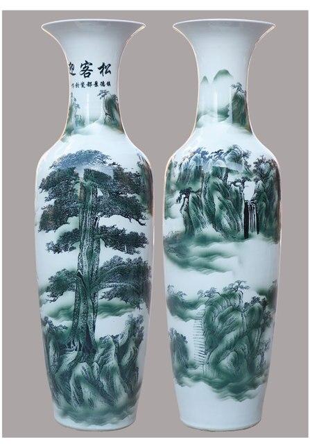 Grosse Grosse Mehr Hoch Keramik Bodenvase 120 Cm In Grosse Grosse Mehr