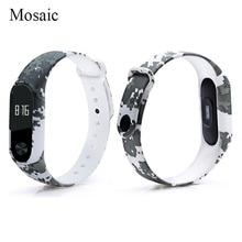 Xiaomi  Mi Band 2 Bracelet Strap Silicone black and white series