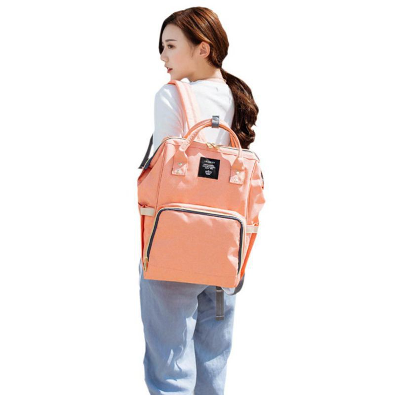 Moda mama kobiety w ciąży torba na pieluchy mama plecak duża - Pieluchy i Trenowanie toalety - Zdjęcie 5