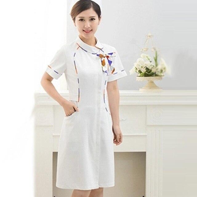 Medical uniforms High quality nursing scrubs Clothes For dental department Short Sleeve Doctor uniformes hospital Ms Work dress