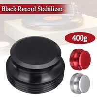 Черный/серебристый/красный вертушки стабилизатор зажим LP виниловые вертушки диск для записи стабилизатор вес вибрации сбалансированный