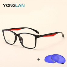 Yong Lan TR90 Myopia Optician Men Women  Glasses Frame With Prescription Lenses Assembly Customized Optical Astigmatism