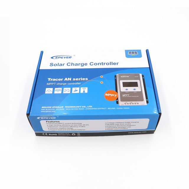 Solar Charge Controller Tracer 20A 12/24V 2210AN 2206AN MPPT battery charger control Epsolar 2210A 2210AN Regulator