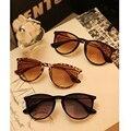 DRESSUUP Marca De Metal Pernas Finas Óculos De Sol Das Mulheres Rodada Óculos de Sol Do Vintage Mulher Oculos de sol Femininos 2016 Óculos