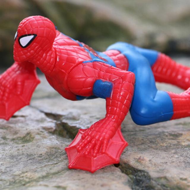 Children's toys model doll  Spiderman 1PCS 9cm