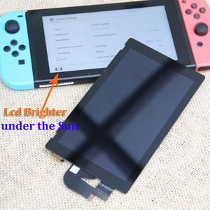 Image 4 - Original for NS console lcd display + touch screen Full screen assembly replacement for Nintend Switch accessories