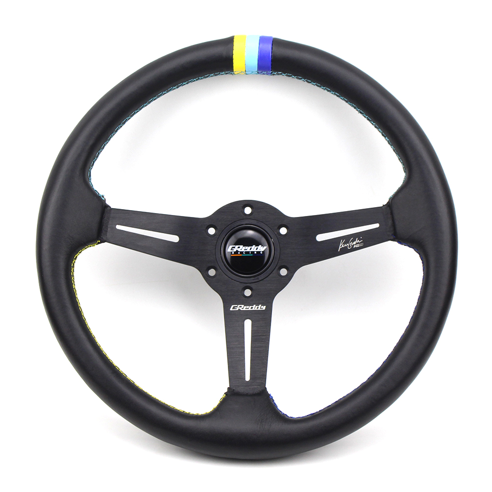 14 Genuine leather Racing Drift Steering Wheel