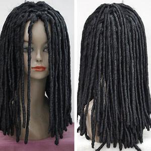 € 29.58  Noir Dreadlocks perruque afro longs