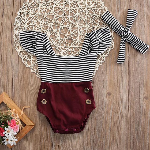 4cd151f3f Toddler Girls Summer Sunsuits Clothing Newborn Kids Baby Infant Girl ...