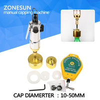 Pneumatic Bottle Capping Machine Hand Held Screwing Capping Machine Manual Capping Machine Aircrew Driver Bottle Capper